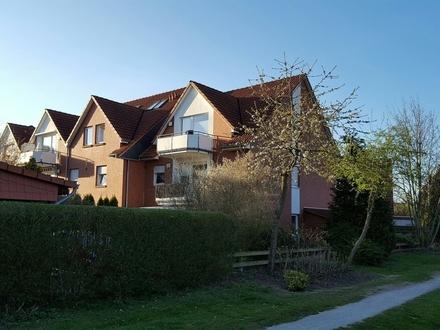 Bezugsfreie, großzügig geschnittene Eigentumswohnung - Obergeschoss - In ruhiger Lage von Wardenburg