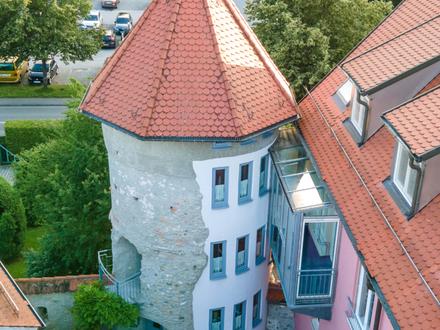 Pfiffige Gewerbeinheit im mittelalterlichen Vötschenturm von Bad Waldsee