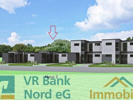 Neubau eines ebenerdiges Gartenhofhauses (Haus 2) im KfW 40 Standard