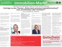 """Vorträge zu den Themen """"Risiko beim privaten Immobilienverkauf""""und """"Verschenken oder Vererben?""""am 6. Juni 2018 um 18.30 Uhr"""