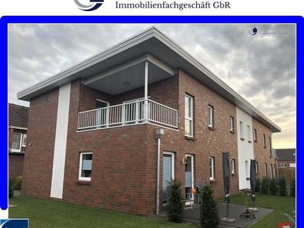 Neubau-Erstbezug! moderne 2 Zimmer-Oberwohnung mit Balkon in Westerstede