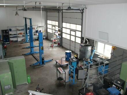 Betriebsbereite Werkstatt in Oberalm