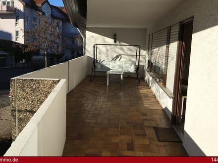 Tolle 4 1/2 Zimmer-Wohnung mit großem Süd/West-Balkon