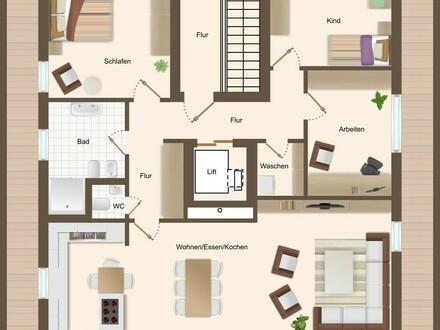 Penthousewohnung für Anspruchsvolle!
