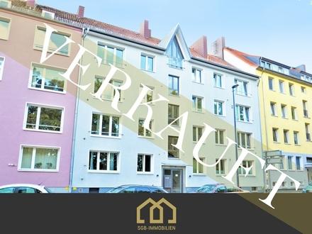 Verkauft: Anlage Am Wall / Tolle City Wohnung mit 3 Zimmern und Süd-Loggia