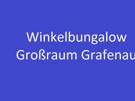 WINKELBUNGALOW MIT GROSSEM GRUNDSTÜCK