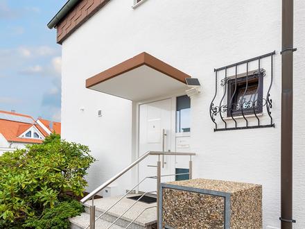Wunderschöne Doppelhaushälfte in attraktiver Lage m. Garten,Garage,Carport, 5 Zimmer + Wintergarten