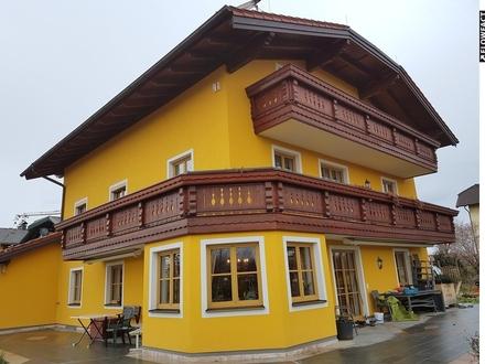 Sonnige und großzügige 4 Zimmer-Dachgeschoßwohnung mit Balkon Wals - beste Ausstattung