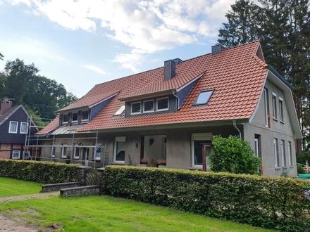 Erstbezug:Frisch sanierte EG- Wohnung direkt am Wald in Dötlingen!