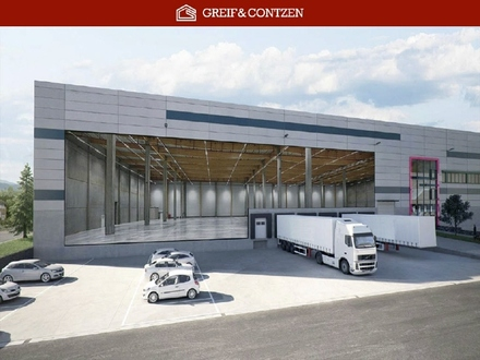 PROVISIONSFREI + + Neubau-Logistikzentrum - Nähe A67