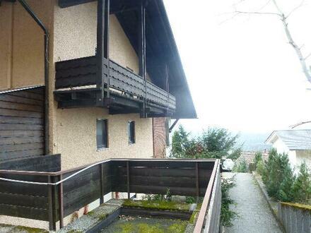 Drei-Zimmer-Wohnung in Aussichtslage von Bodenmais