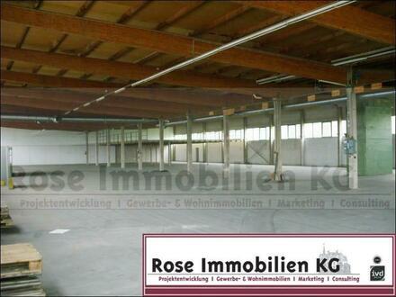 ROSE IMMOBILIEN KG: Lager-/Produktionshallen, tlw. mit Kranbahnen 3,2 t. - 32 t. Traglast!