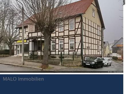RESERVIERT++Wohnhaus 4 WE mit Gewerbeeinheit und Nebengebäude+++RESERVIERT+++