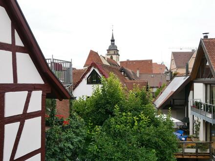 Eine Perle in der historischen Altstadt-Denkmalschutz-