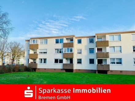 Gut geschnittene Eigentumswohnung in ruhiger Wohnlage von Bremen-Blockdiek