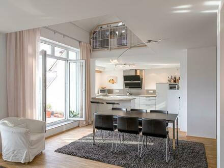 * Exklusive Maisonett-Dachgeschosswohnung *
