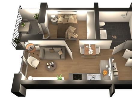 ALLES NEU! | Schickes Apartment mit Balkon in guter Lage [10]