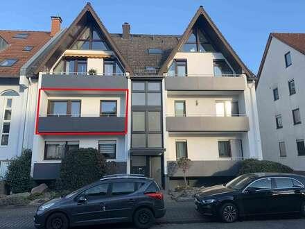 Modern geschnittene 3-Zimmer Wohnung mit 2 Balkonen, hervorragender Zustand, in bevorzugter Wohnlage