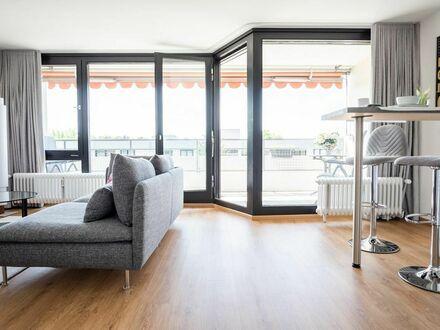 Luxus-Appartement 1,5 Zimmer mit W-Balkon in Vollaustattung