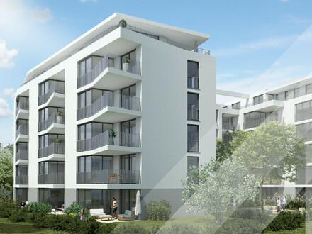 on: 3,5-Zimmer in Toplage Erstbezug mit hochwertiger Einbauküche und Balkon im Zentrum von Heilbronn