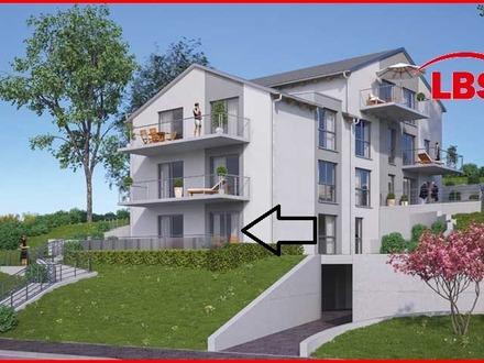 Sonnige 2 Zimmerwohnung mit Terrasse in Feuchtwangen