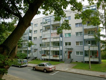 3-Raumwohnung mit Balkon und Dusche