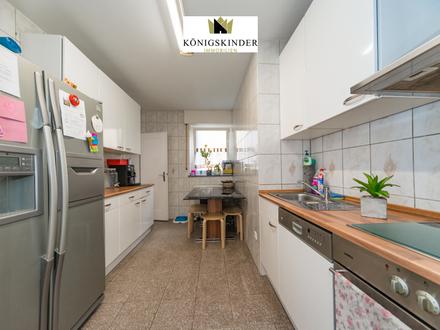 Top-Lage: 4-Zimmerwohnung in zentraler Wohnlage von Stuttgart-Zuffenhausen mit EBK im Erdgeschoss