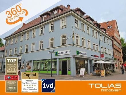 Langfristiger Mieter gesucht! Attraktive Büro-/Praxisfläche mit ca. 87 m² in Bad Cannstatt