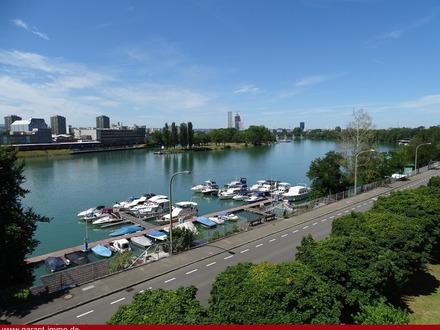 ** Wohnen am Rhein mit Aussicht ** Ein Steinwurf vom Zollübergang **