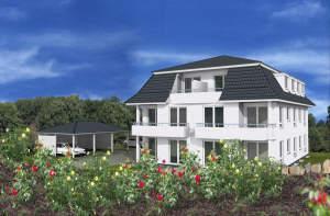Neubau - Prestige - Wohnung - DG mit Balkon