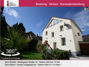 Erstklassig saniertes Einfamilienshaus mit weiterer Bebauungsmöglichkeit in guter Lage von Frankfurt-Griesheim