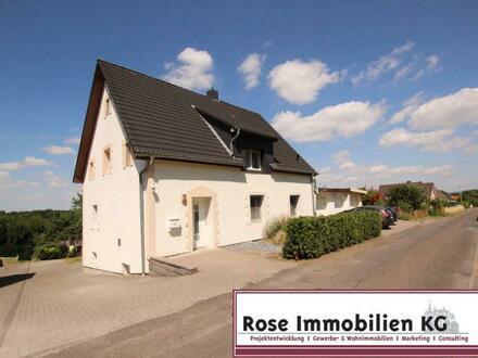 Hier wurde vieles getan! Einfamilienhaus mit Fernblick am Wiehengebirge!
