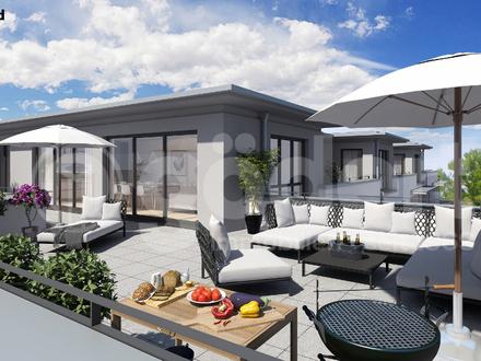 Exklusive Penthouse Wohnung mit großer Dachterrasse!
