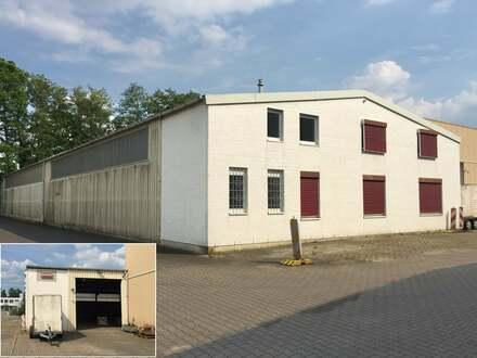 Gewerbehalle mit Büro- und Sozialräumen