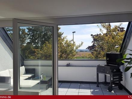 Luxus Maisonette-Wohnung mit Fernblick nach Stuttgart