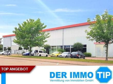 Beheizbare Halle im Gewerbepark Chemnitz Röhrsdorf zu vermieten