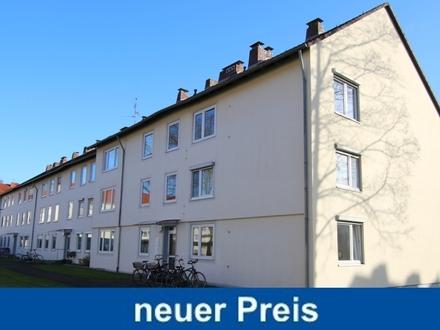 2-Zimmer-Obergeschosswohnung mit sonniger Loggia und Kellerraum in Oldenburg-Bürgerfelde
