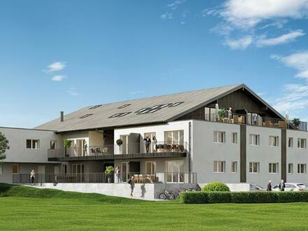 Neubau: 3-Zimmer-Wohnung mit Balkon in Grünruhelage von Ried