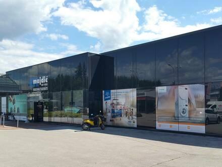 Geschäftslokal mit großem Parkplatz in Klagenfurt provisionsfrei zu vermieten