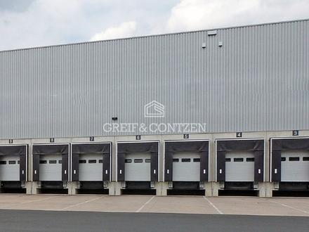 Logistikflächen   Rampe u. ebenerdige Andienung   WGK-fähig