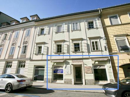 Klagenfurt - Innenstadt - Burggasse: Geschäftsfläche in frequentierter Lage