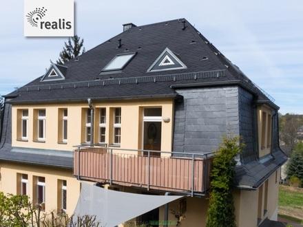 Villa, Mehrfamilienhaus und Baugrundstücke in Stollberg+vielseitige Möglichkeiten für Anleger