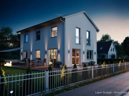 LAYER Haus: Frei stehendes Einfamilienhaus in Königsbrunn Landsberger Straße (Projektierter Neubau)