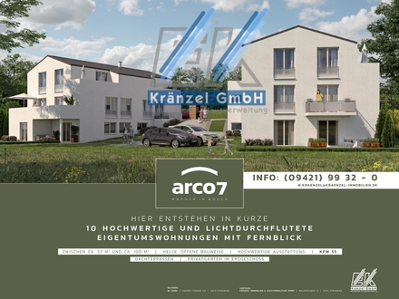 80% VERKAUFT - ARCO 7 - Neubauprojekt mit Fernblick Bogen-Hummelberg