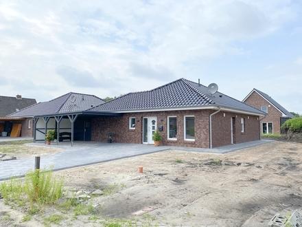 Wiesmoor: Neubau, Bungalow mit Carport, Nr. 5, Obj. 5220