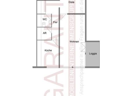 Gemütliche 4 1/2 Zimmer ruhig und hell auf zwei Etagen - 2 x Loggia - 1 Stellplatz - Nähe Bahnhof