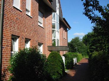Schicke moderne Dachgeschoßwohnung mit Balkon.