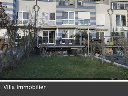 Wohnen direkt am Rhein: Einmaliges RMH mit EBK, Garten, Garage und Kfz-Stellplatz in Mainz-Kastel