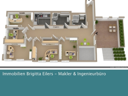 Moderne Büro- und/oder Praxis-Raume in saniertem, denkmalgeschützten Gebäude im Herzen der Neustadt