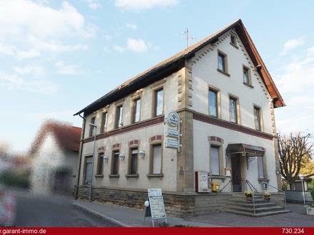 ***Traditionshaus: Gaststätte mit Pension nahe Sinsheim***